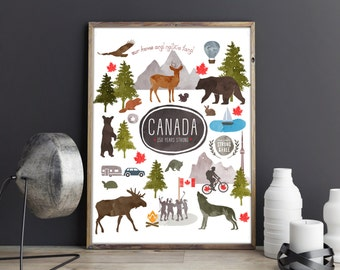 Instant download! Canada 150 Years Strong - digital file