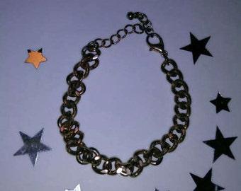 1PC Bronze Chain Bracelet