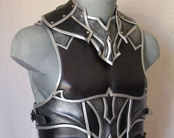 Leather gorget and body armor