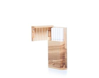 Wooden Cigarette Case-Cigarette Case-Smoking Accessory- Handmade Cigarette Holder- Wooden Cigarette Box- Smoker's Gift-Gift Ideas-Gift