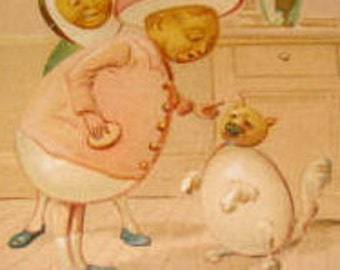 SALE Tuck and Son Vintage Easter Postcard
