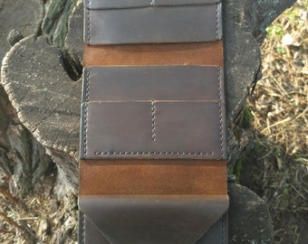 Leather organizer, Leather wallet