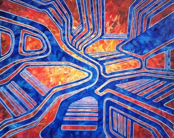 """Tapping Into The Mainframe 24""""x24"""""""