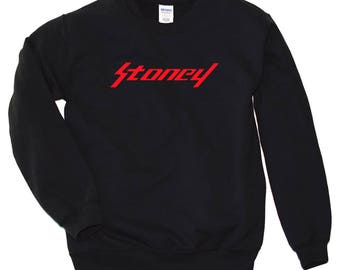 Stoney Shirt Post Malone Stoney Sweatshirt Stoney Crewneck Stoney Merch Post Malone Shirt Post Malone Hoodie Hip Hop Sweatshirt