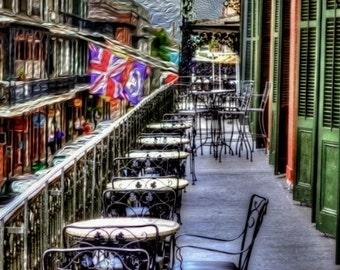 Restaurant at New Orleans French Quarter