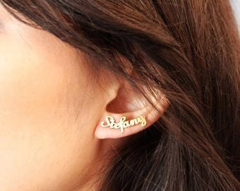 Name Earing Personalized - Nam Ear Climber