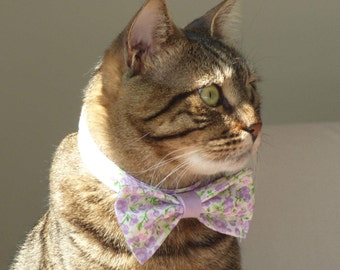 Flora-Cat - Bow Tie - Collar