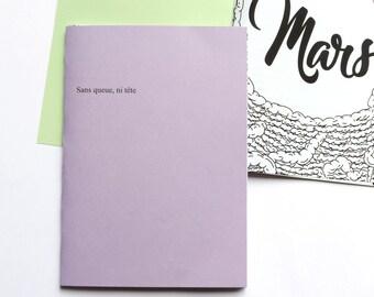 Bullet journal / notebook / Organizer / handmade / March