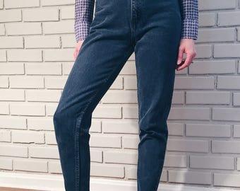 Vintage Jordache 80s 90s High Waisted Zipper Ankle Jeans