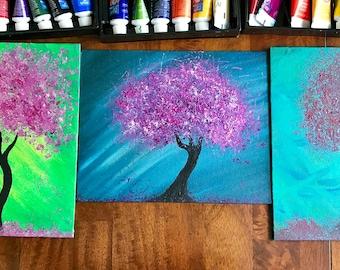 Custom Tree Paintings FREE Shipping