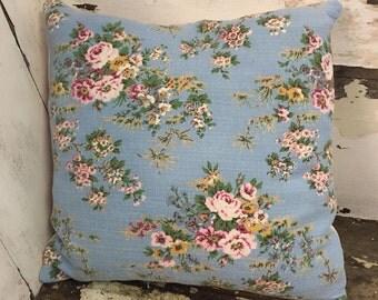 Beautiful vintage barkcloth panel cushions