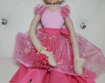 Léna 100% Handmade Doll - 57cm