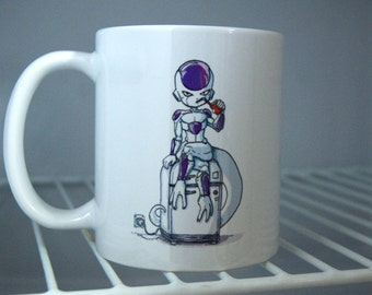 Cute Chibi Mug of Freezer, from Dragon Ball
