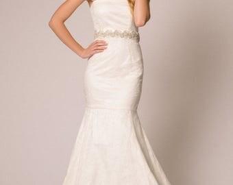 Nina Rose Bridal Thalia Wedding Dress Sample Size 8