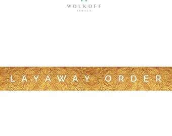 Layaway Order: Initial Deposit