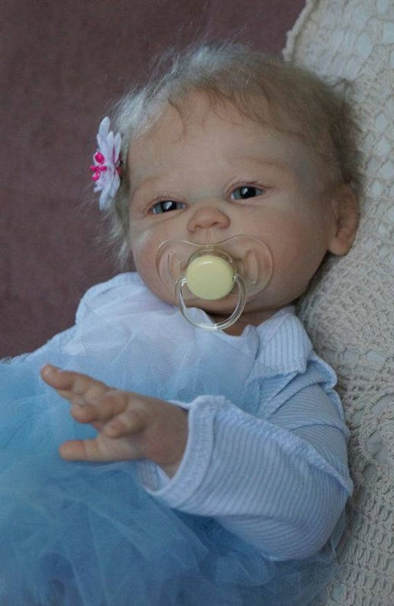 Full Body Silicone Baby Doll Realistic Reborn Baby Girl