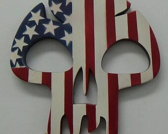 American Game Skull Motif