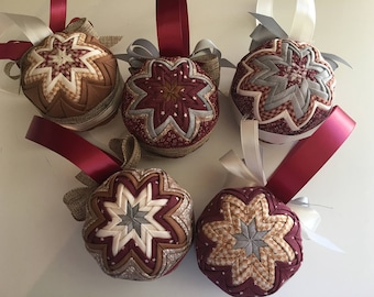 Rustic Country Christmas Ornaments