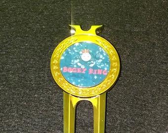 Custom Golf Ball Marker/Divot Tool Hat Clip