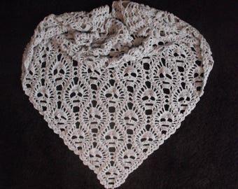 Lost Souls Shawl - Crochet Shawl with Skull Motif
