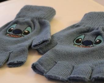 PAIR Lilo & Stitch Fingerless Gloves