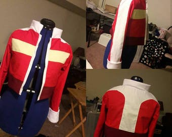 Keith Jacket Voltron Cosplay