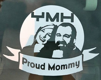 YMH White Decal
