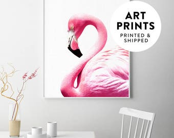 Flamingo art, flamingo poster, flamingo, flamingo print, pink wall art, pink wall decor, flamingo wall art, pink flamingo, modern wall art