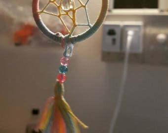 Pastel Mini Dream Catcher