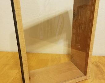 Salvaged wood Shadowbox