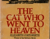 The Cat Who Went to Heaven - Elizabeth Coatsworth - Lynd Ward - 1972 - Vintage Kids Book