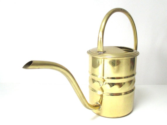 Sale unique brass watering can vintage brass by mybeautifulbavaria - Unusual watering cans ...