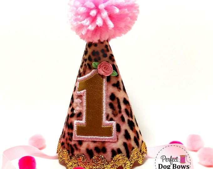 Dog Birthday Party Hat, Dogs 1st Birthday Party, Birthday Party Supplies, Puppy Party Hat, Gotcha Day
