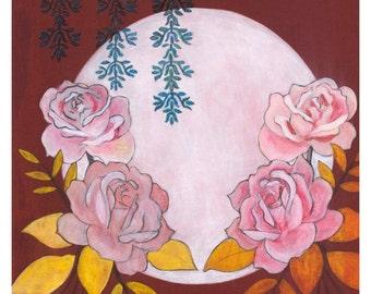 Rose Flower Giclee Print