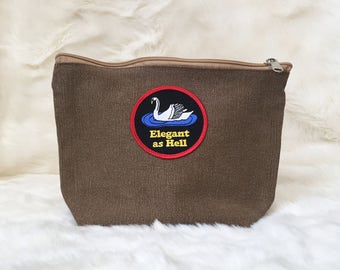 Elegant as Hell Pouch