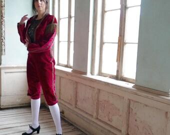 Victorian Era Velvet Matador Costume