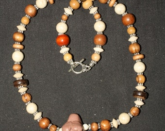 Earth Mother Goddess Necklace - For Ritual, Magic, Pagan, Wicca, Witchcraft