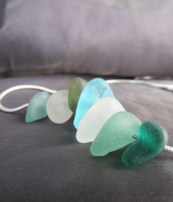 Wanderlust sea glass necklace