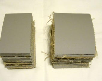 Gray Unmounted Linoleum Carving Sheets for block/lino printing Package of 5 pieces