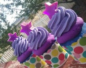 Galactic Purple's Cupcake Bathbombs