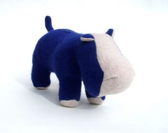 Royal Blue Hippopotamus