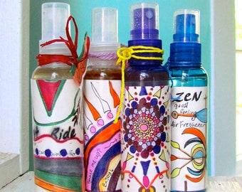 Fun & Funky Spritzes: versatile essential oil sprays, Air Freshener, Linen Spray, Body Spray