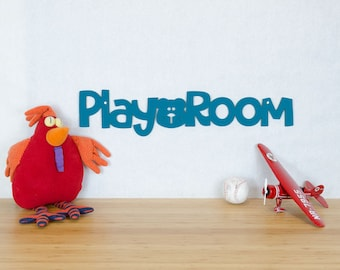 Kids Nursery Sign, Play Room Wood Sign, Childrens Den Sign, Kids Play Area Sign, Sign Gift For Parents, Signs For Play School