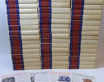 Huge Zane Grey Books Lot 52 Volumes Plus Advertising Western Novels Hardcover