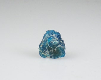 Neon Blue Apatite Rough Gemstone Raw Natural Healing Metaphysical Reiki