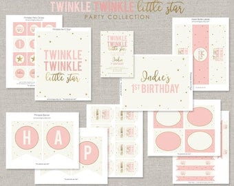 Twinkle Twinkle Little Star Party Collection - DIY