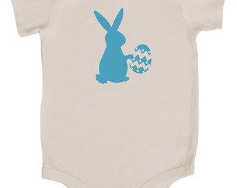 Easter Graphic Baby Bodysuit- Easter Bunny Delivery
