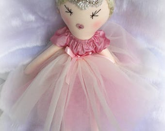 Pink french rag doll