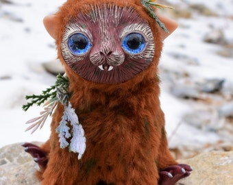 Pacific Fisher - OOAK Fantasy Art Doll