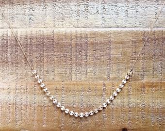 M A E M I • pom pom mixed necklace